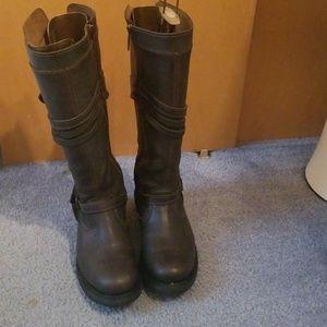 Knee high Harley Davidson Boots